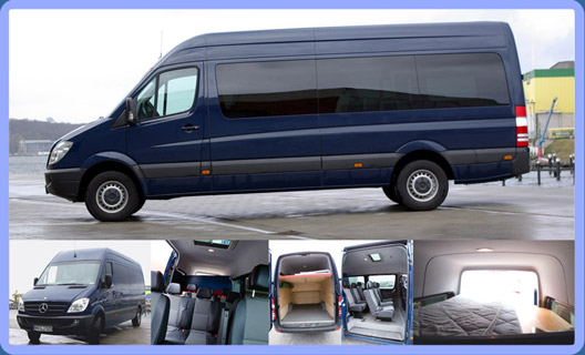 4 Mercedes Sprinter 316 Cdi Complete Services